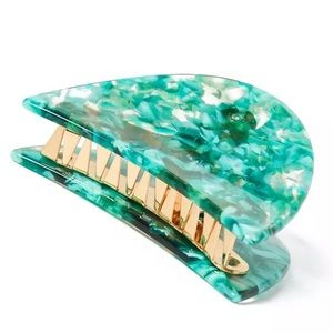NWOT Anthro Sadoughi Green Hair Pin